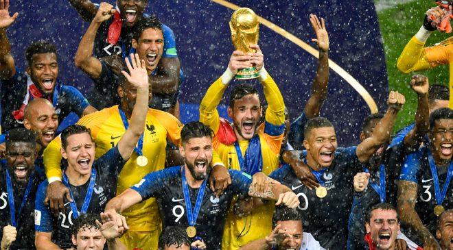 Coupe du monde : revivez la victoire de la France face à la Croatie en finale